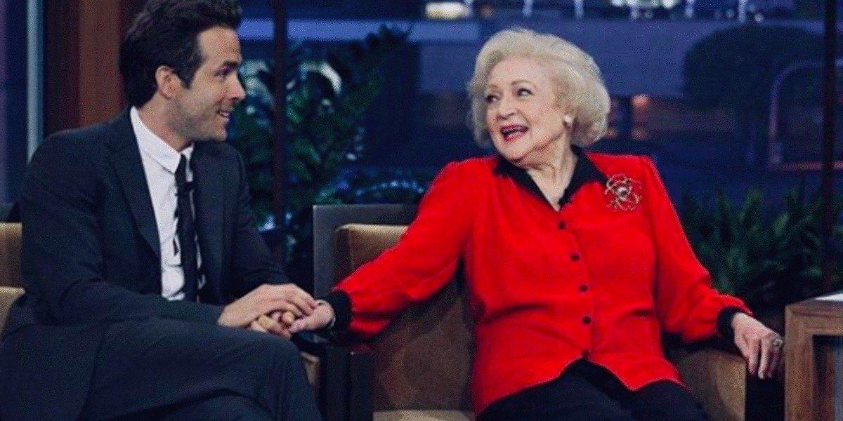 Ryan Reynolds, Betty White - Late Night with Jimmy Fallon