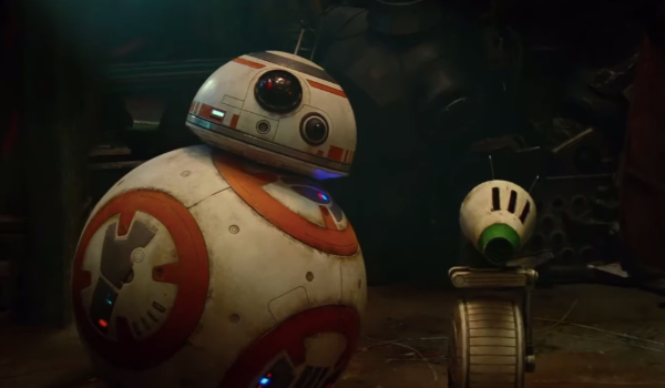 Star Wars: The Rise of Skywalker BB-8 and D-O looking confused