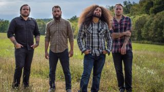 A promotional picture of Coheed And Cambria