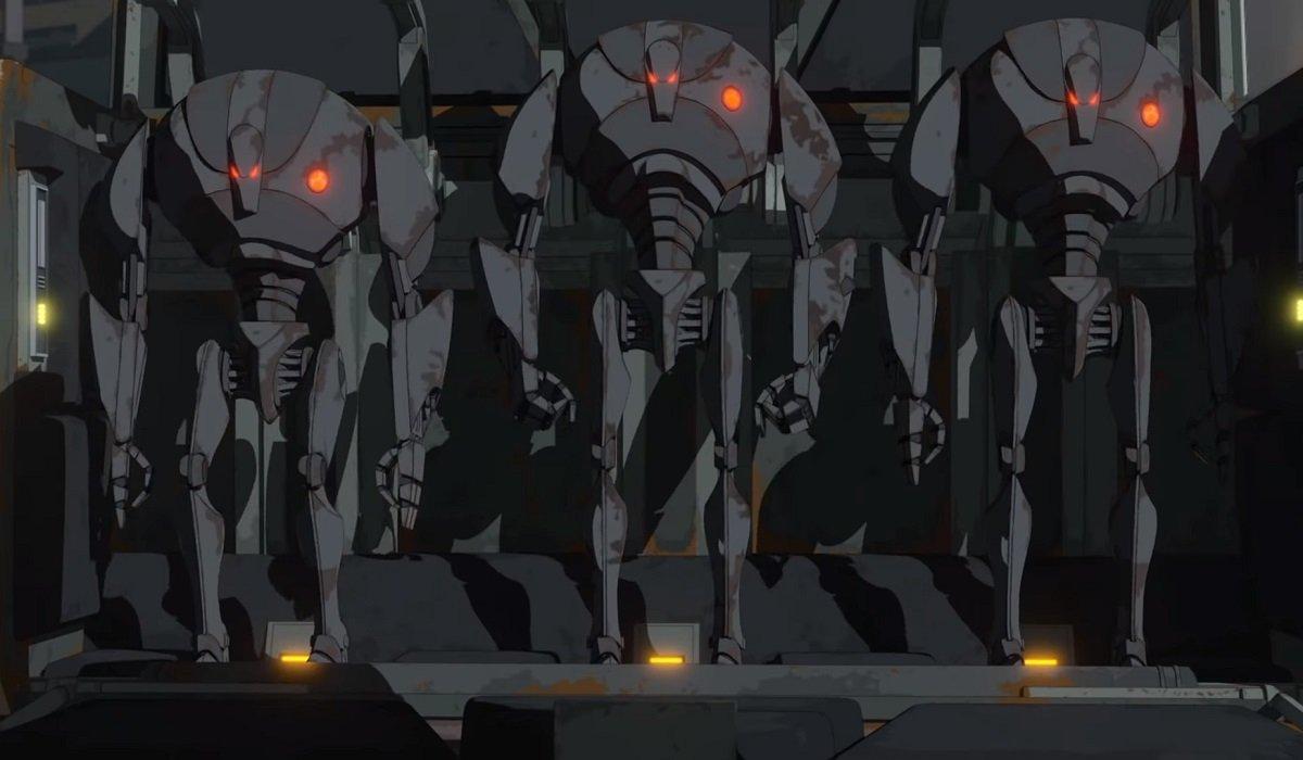 Super Battle Droids Star Wars: Resistance