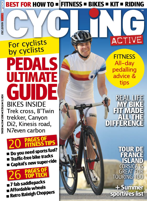Cycling Active August 2013 issue