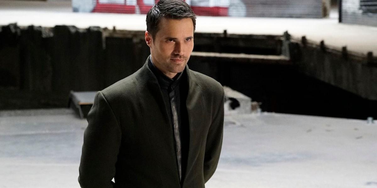 Brett Dalton as Grant Ward/Hive on Agents of S.H.I.E.L.D. (2016)