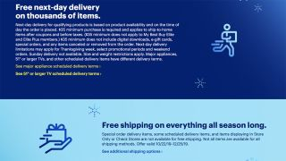 Best Buy battles Amazon with free next-day delivery for holiday season