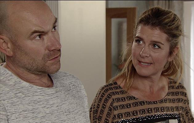 Coronation Street Gina Comforts Tim