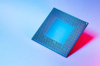 Stock image of a CPU
