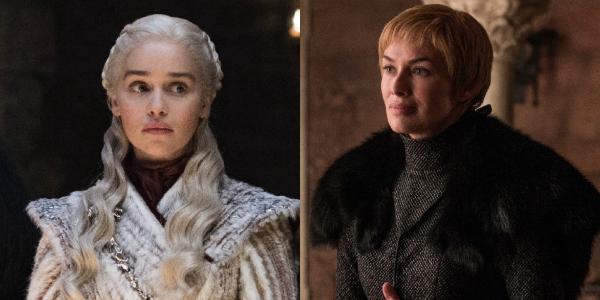 Game of Thrones Daenerys Targaryen Emilia Clarke Cersei Lannister Lena Headey HBO