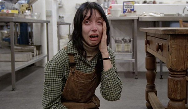 Shelly Duvall as Wendy in The Shining