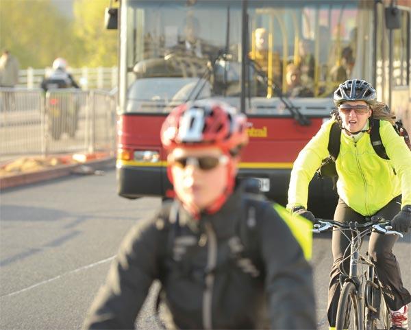 British Cycling advertorial image