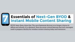 INFOGRAPHIC: 7 Essentials of Next-Gen BYOD & Instant Mobile Content Sharing