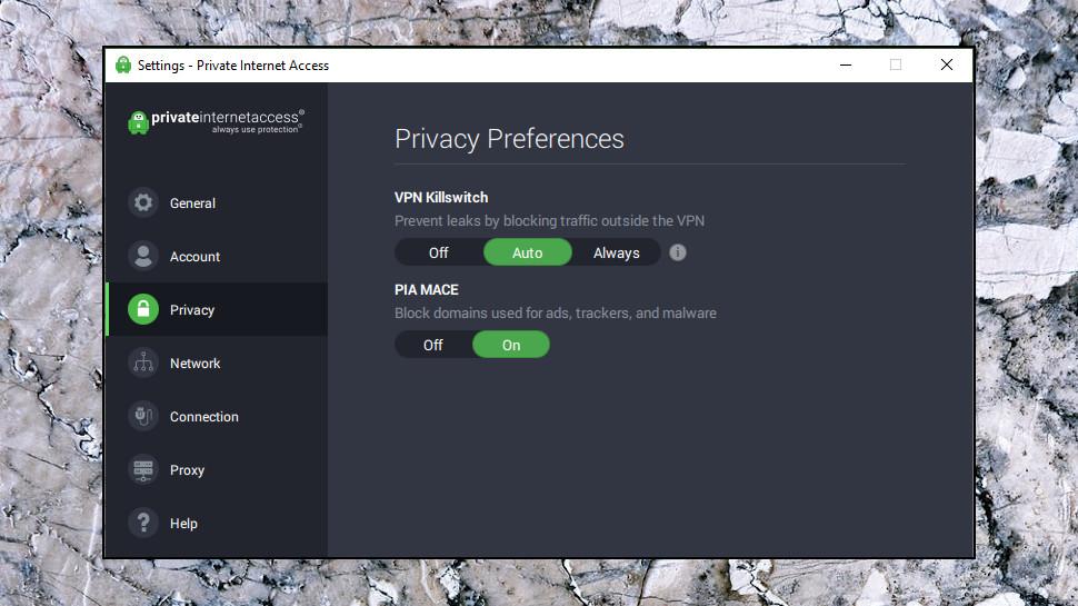 Private Internet Access Privacy