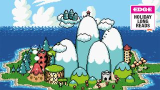 An image of Super Mario World 2: Yoshi's Island from Retro Gamer magazine