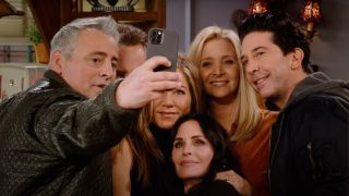 What time can you watch Friends Reunion today? Right now, actually