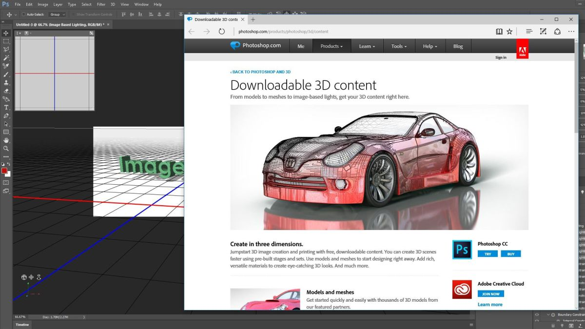 Adobe CC 3D tips for graphic designers | Creative Bloq