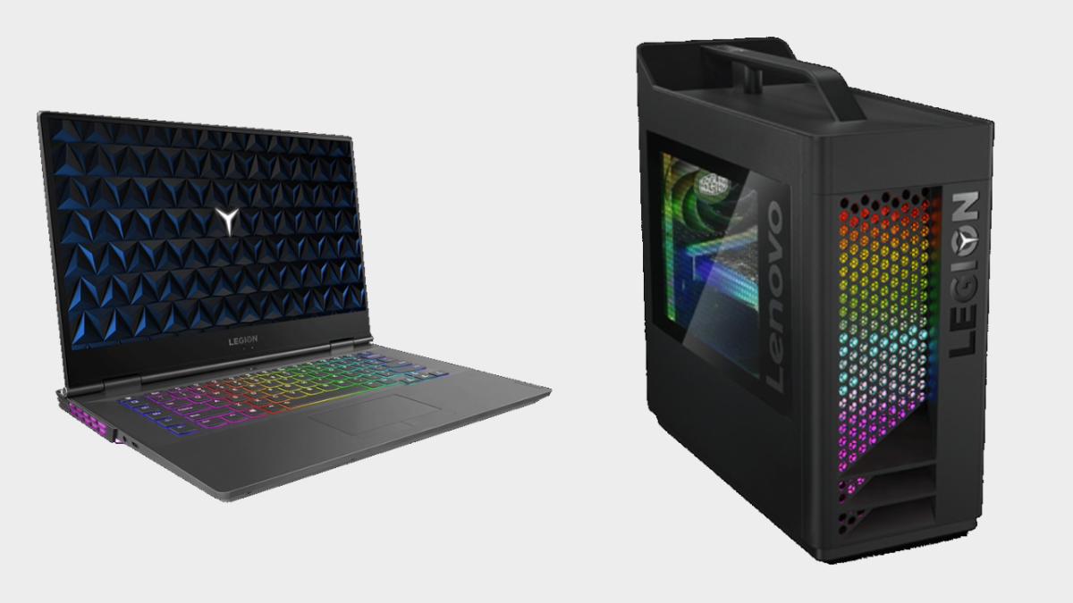 Grab some cheap Lenovo desktops and laptops in celebration of Intel Gaming Days