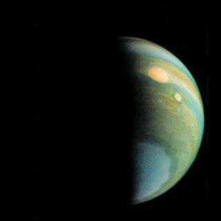 JunoCam View of Jupiter in False Color