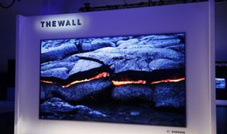 Samsung Shows Modular MicroLED 146-inch TV at CES