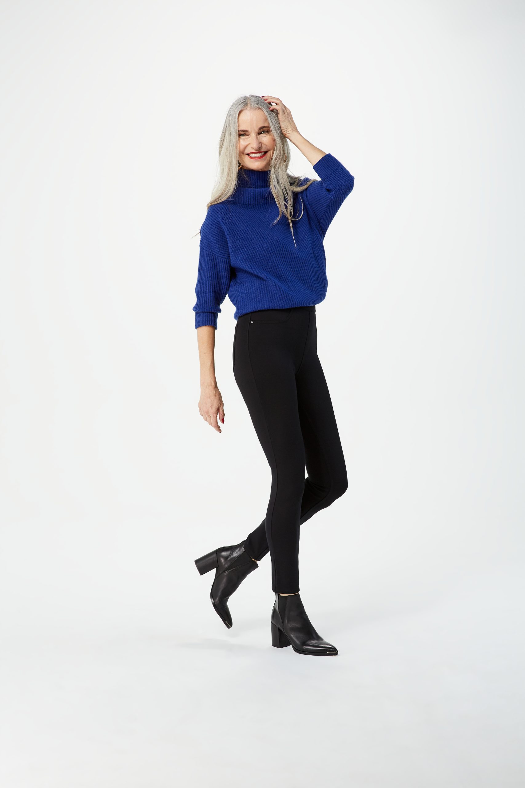 Spanx black trousers ponte trousers control leggings