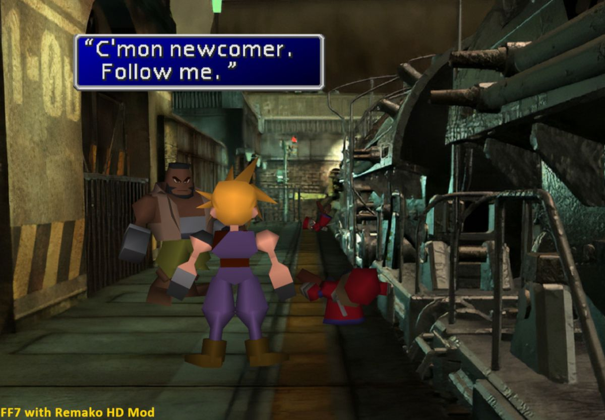 AI neural networks are giving Final Fantasy 7 a makeover
