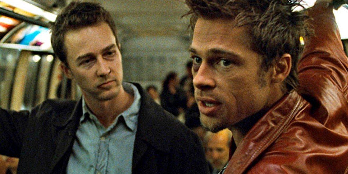 Edward Norton, Brad Pitt - Fight Club