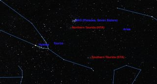Taurid Meteor Showers November 2015
