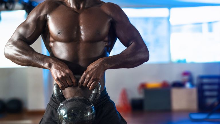 3-move kettlebell workout for big arms