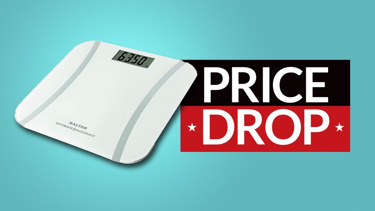 Up to HALF PRICE Salter bathroom scales at Amazon: track your weight loss for way less