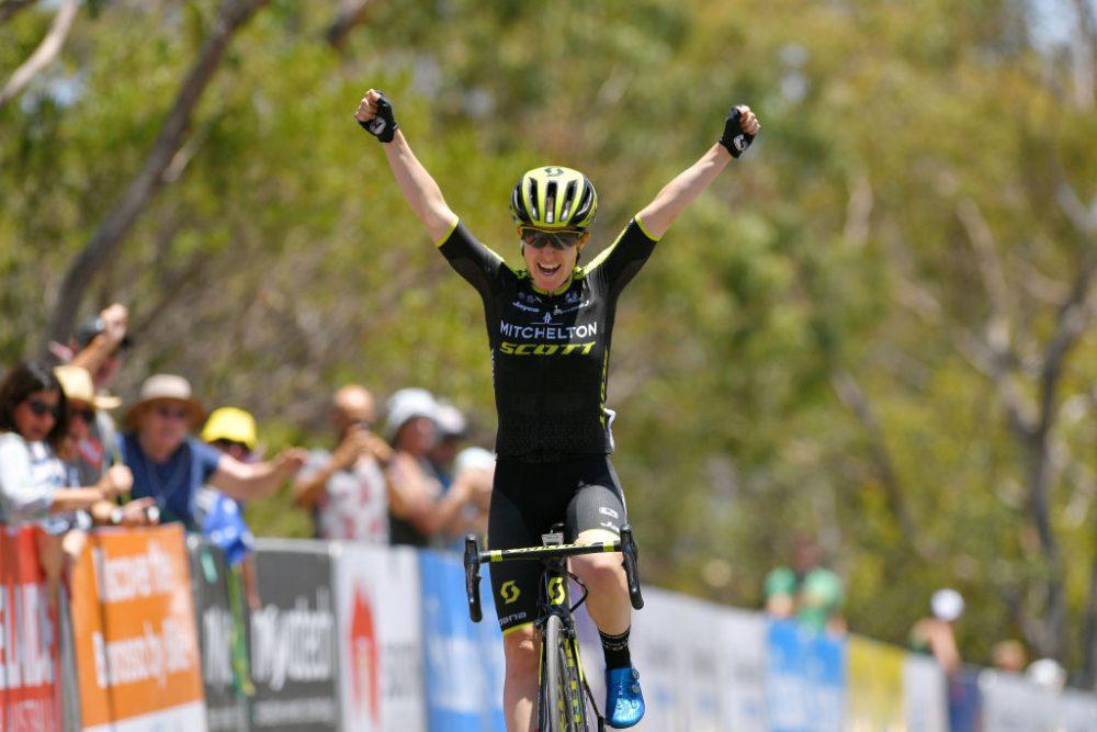 Amanda Spratt leads Mitchelton Scott one-two at the Women's Tour Down Under