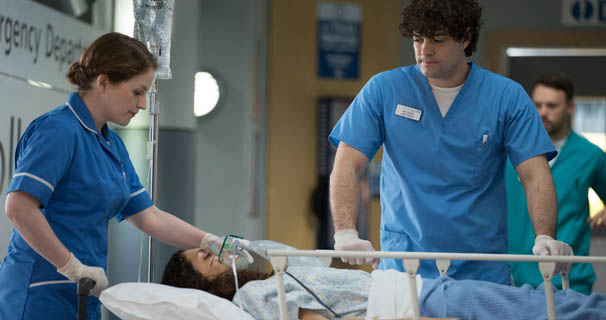 casualty death in the ed news casualty what s on tv
