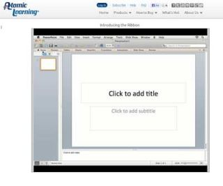 Video Tutorial: PowerPoint 2011 – Using the Tabs on the Ribbon