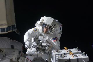 Astronaut Christopher Cassidy in Disney Plus's 'Beyond the Stars.'