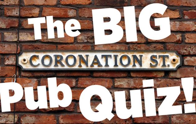 corrie rovers return pub quiz