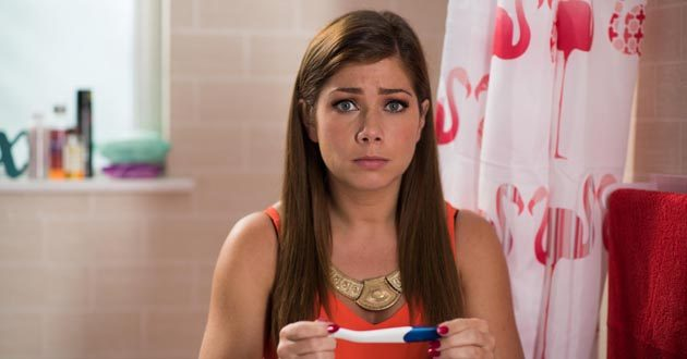 Nikki Sanderson plays Maxine Blake in Hollyoaks