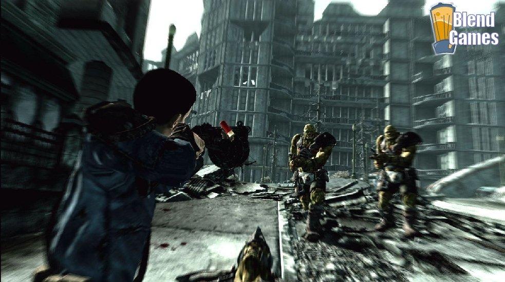 Fallout 3 And Borderlands Screenshot Comparison #4165