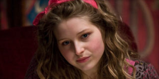 Lavender Brown (Jessie Cave) stares off into space in 'Harry Potter and the Half-Blood Prince'