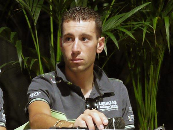 Vincenzo Nibali, Tour de France 2012 press conference