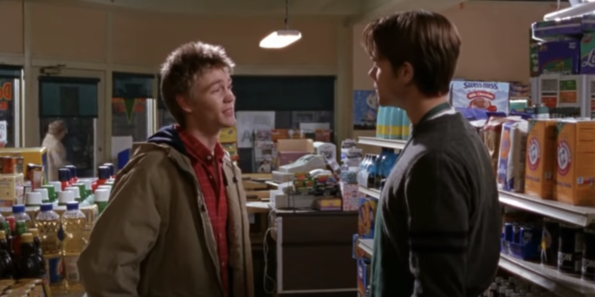 Jared Padalecki as Dean Forester and chad michael murray tristan gilmore girls