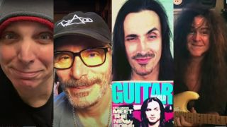 Guitar World 40 video greeting