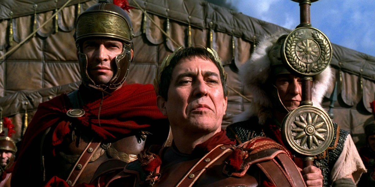 James Purefoy and Ciaran Hinds in Rome