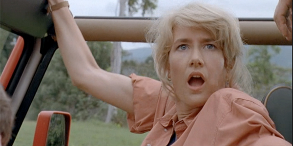 laura dern in jurassic park with nic cage