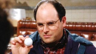 Jason Alexander as George Costanza on Seinfeld