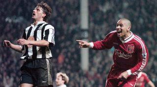 Newcastle 4-3 Liverpool, Apr 1996