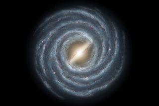 Artist's Depiction of Milky Way