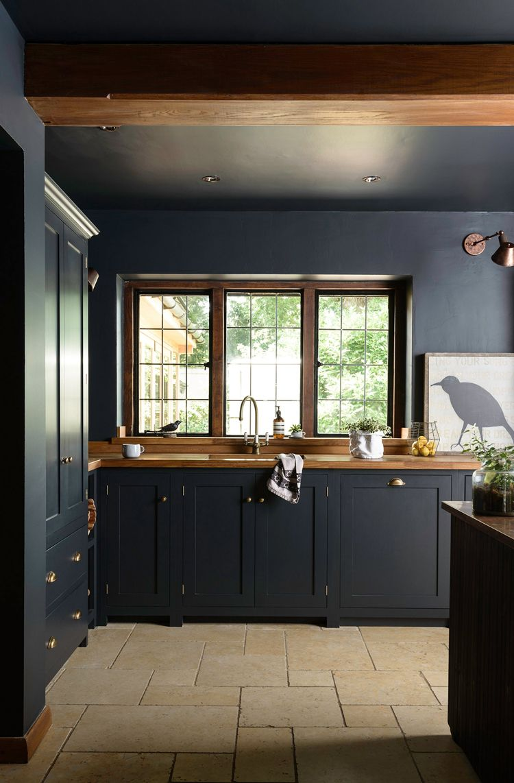 12 Black Kitchen Ideas That Will Make You Want To Go Over To The Dark Side Real Homes