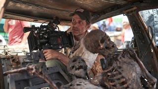 Zack Sndyer filming Army of the Dead