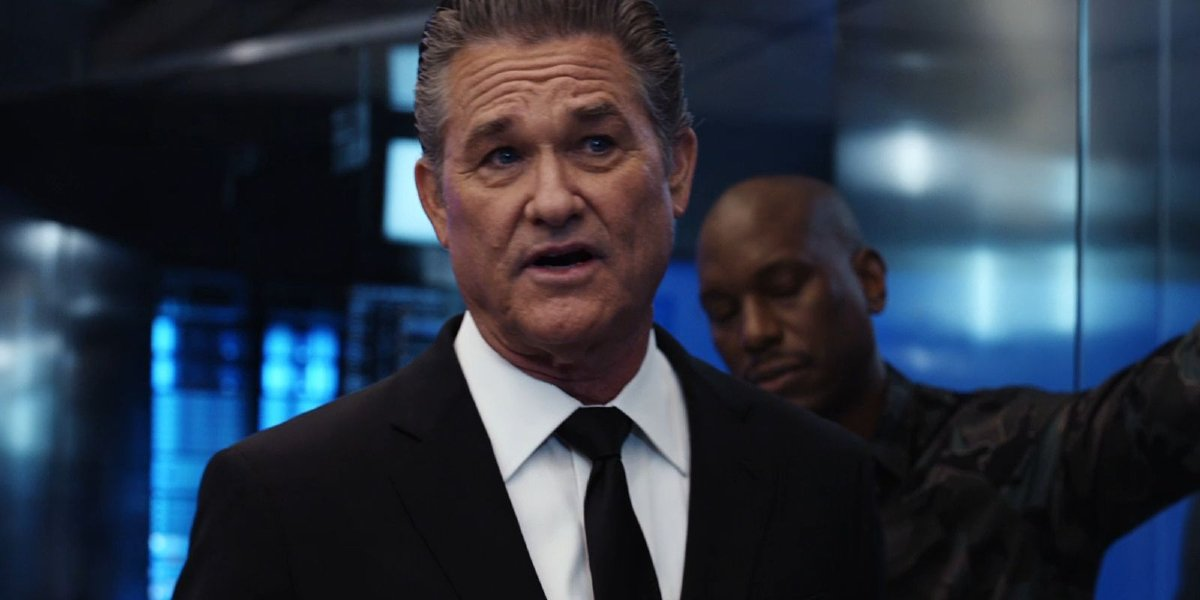 Kurt Russell in the Fate of the Furious