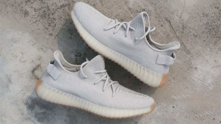"The Adidas Yeezy Boost 350 V2 in ""Sesame"""