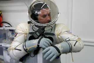 Final Frontier Design's Spacesuit Pressurization
