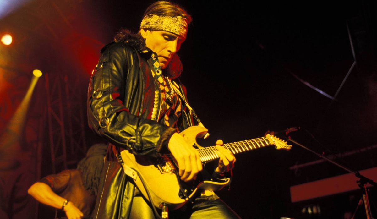 Watch Steve Vai Re-Enact the 'Crossroads' Guitar Duel Live in 1997