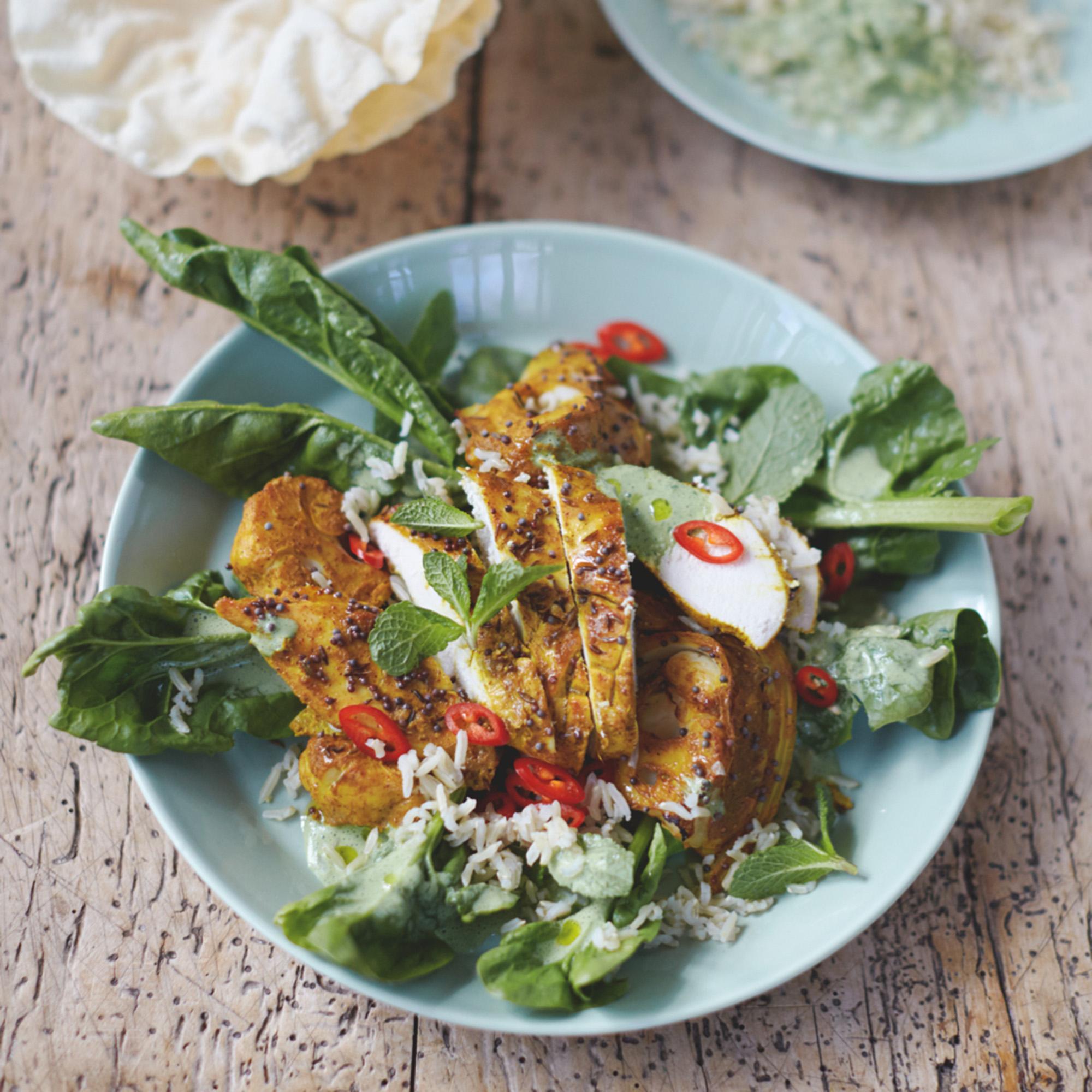 Jamie Olivers Bombay Chicken And Cauli