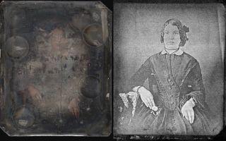 Woman daguerreotype